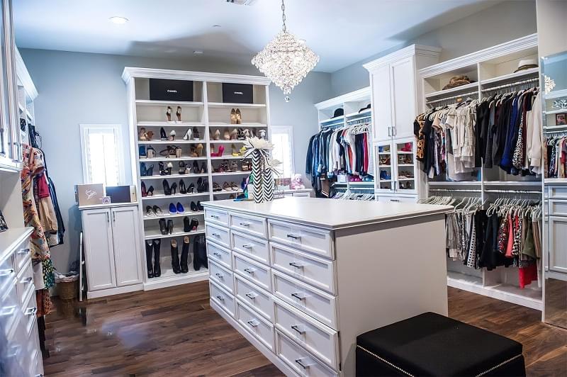 Креативні ідеї організації гардеробної кімнати 2