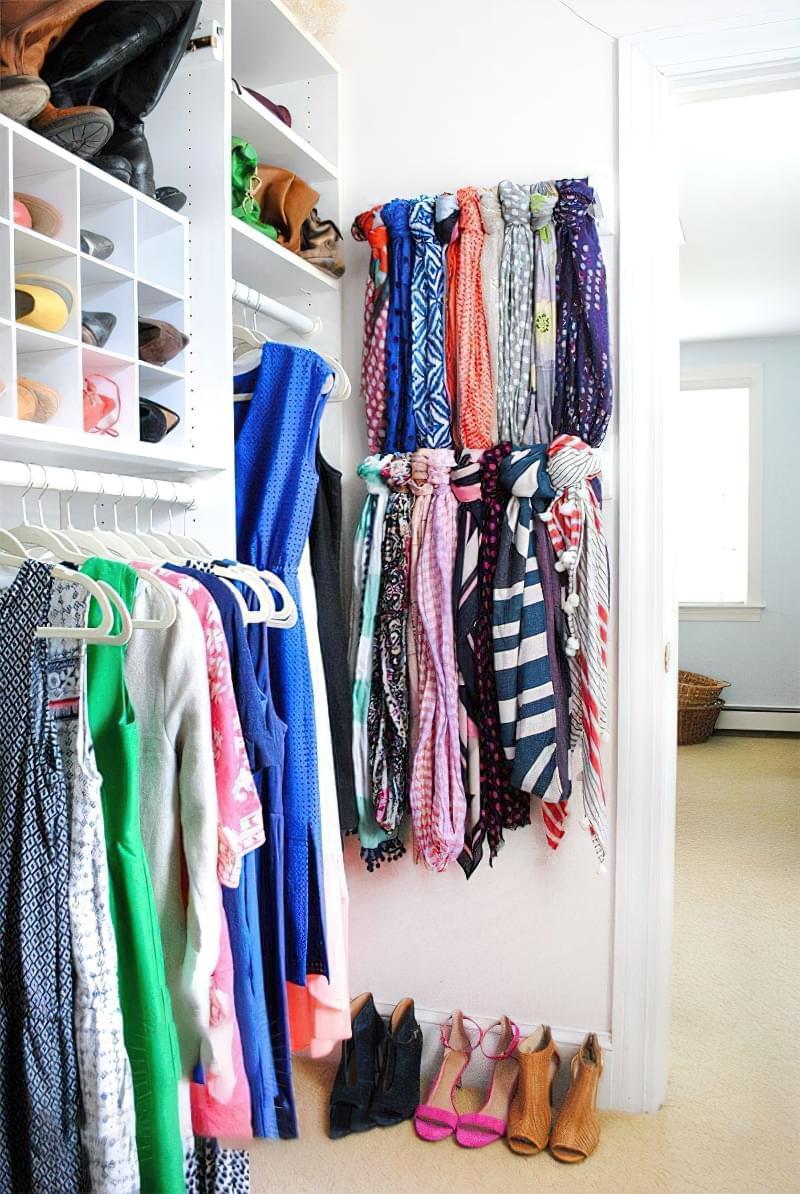 Креативні ідеї організації гардеробної кімнати 12