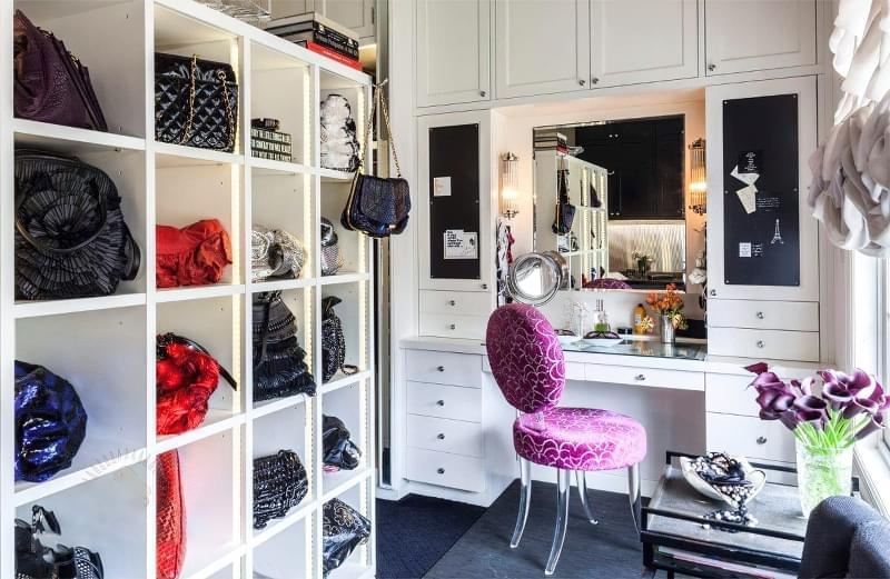 Креативні ідеї організації гардеробної кімнати 5