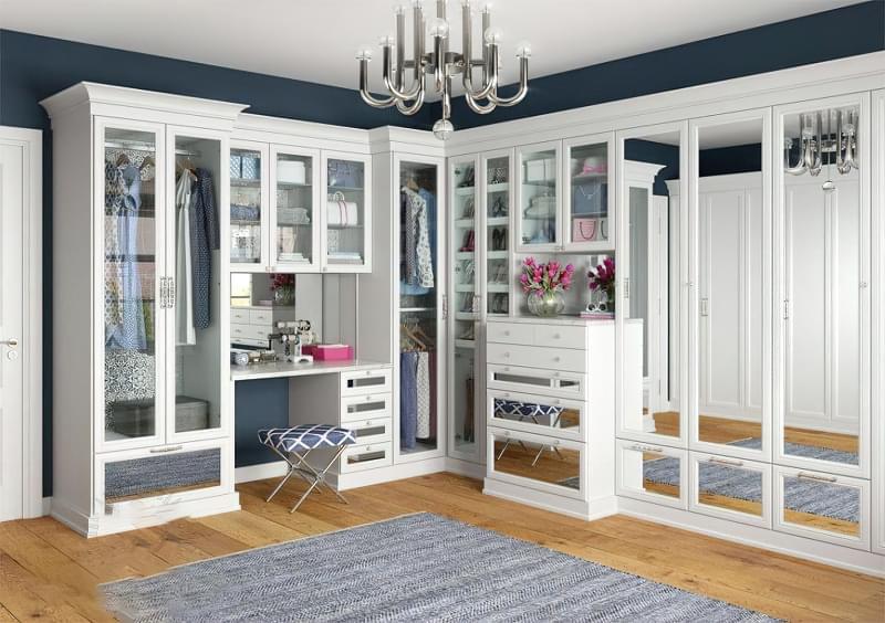 Креативні ідеї організації гардеробної кімнати 6