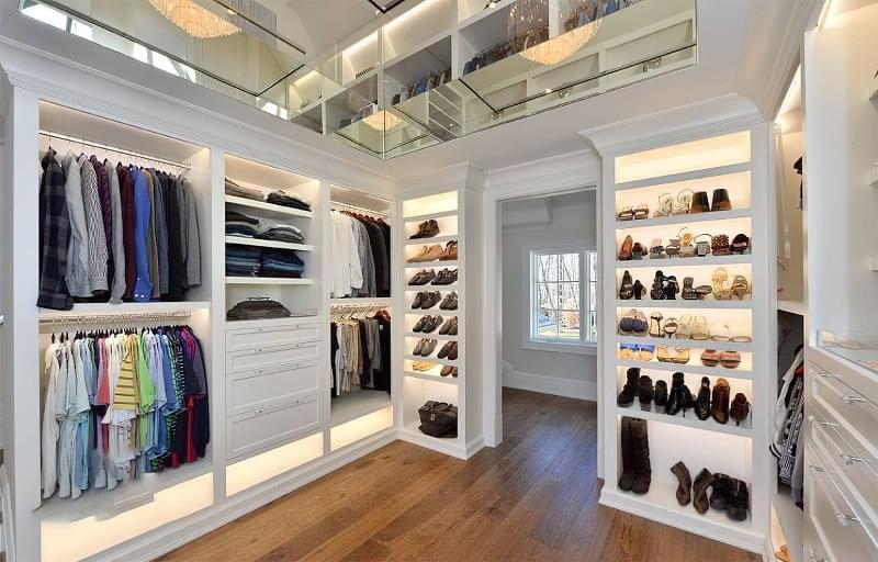 Креативні ідеї організації гардеробної кімнати 8