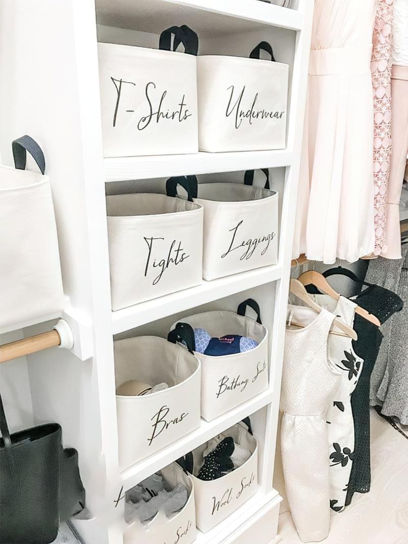 Креативні ідеї організації гардеробної кімнати 9