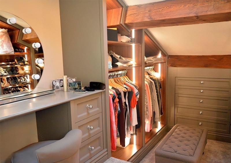 Креативні ідеї організації гардеробної кімнати 1