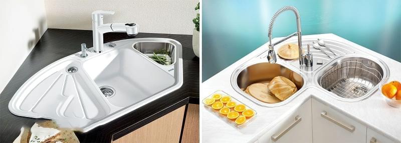 Вибір мийки та змішувача для кухні 5