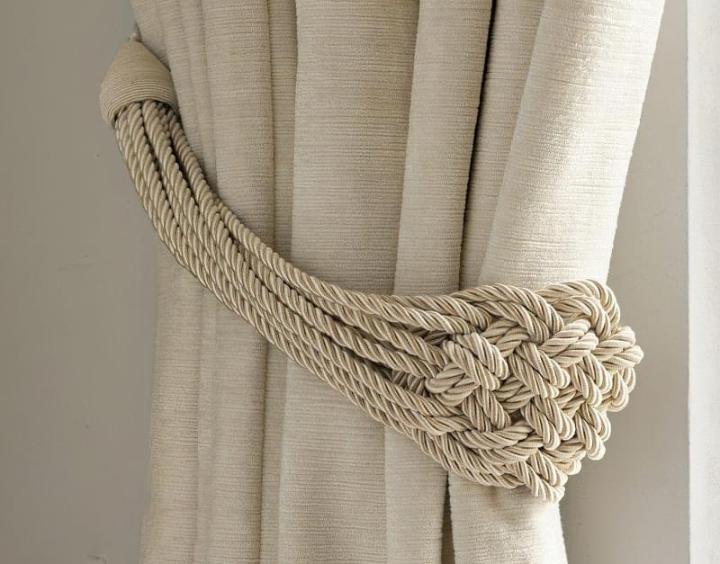 Канати і мотузки в декорі інтер'єру 1
