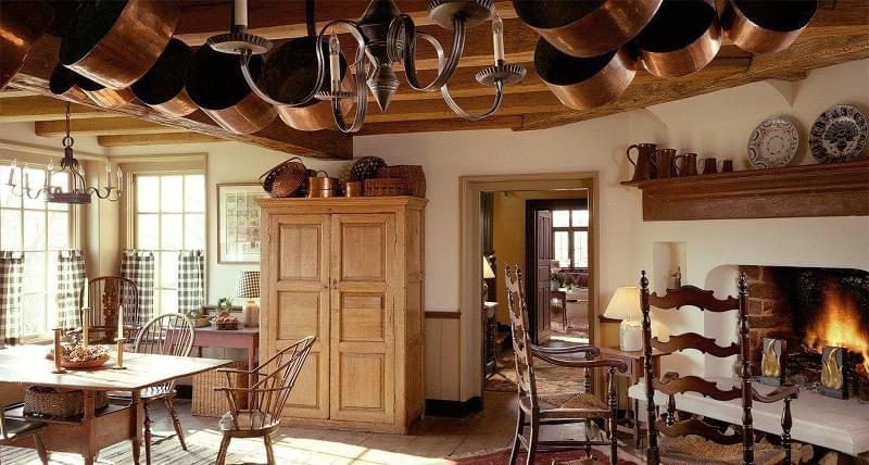 Ідеї зберігання великого посуду на кухні 2