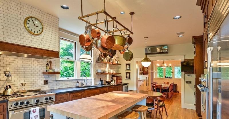 Ідеї зберігання великого посуду на кухні 1