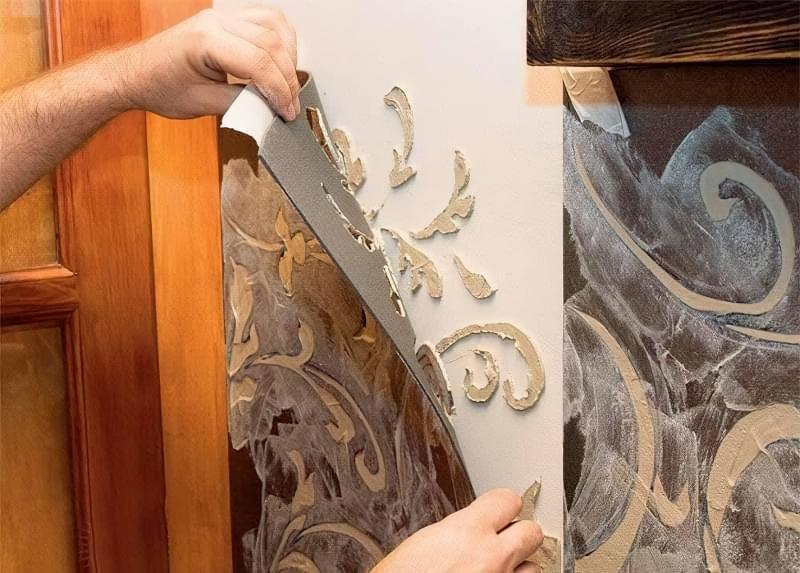 Рельєфна обробка стін: матеріали і техніка виконання 5