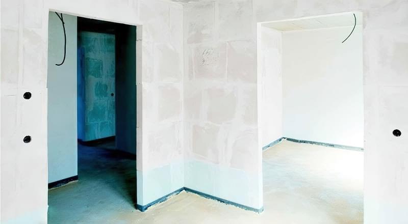 Штукатурна обробка газосилікатних стін 2