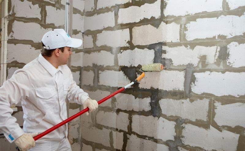 Штукатурна обробка газосилікатних стін 3