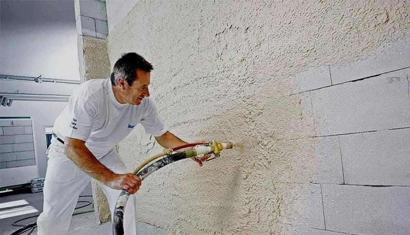 Штукатурна обробка газосилікатних стін 6