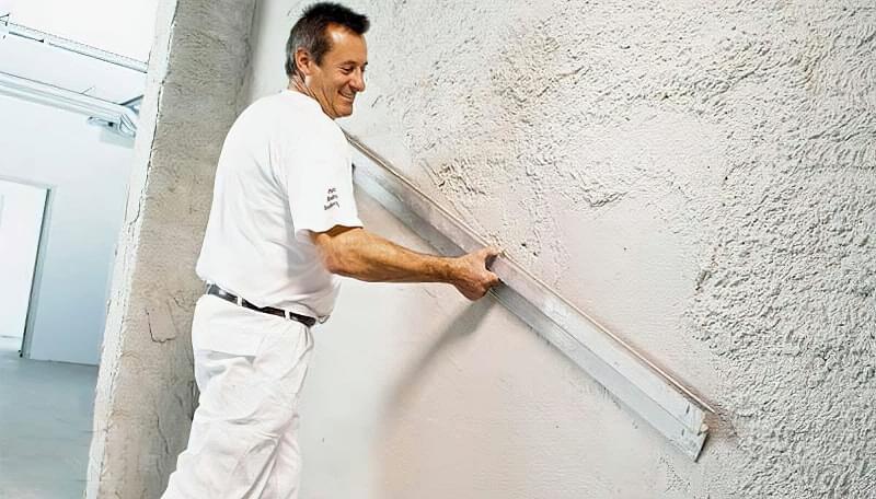 Штукатурна обробка газосилікатних стін 7
