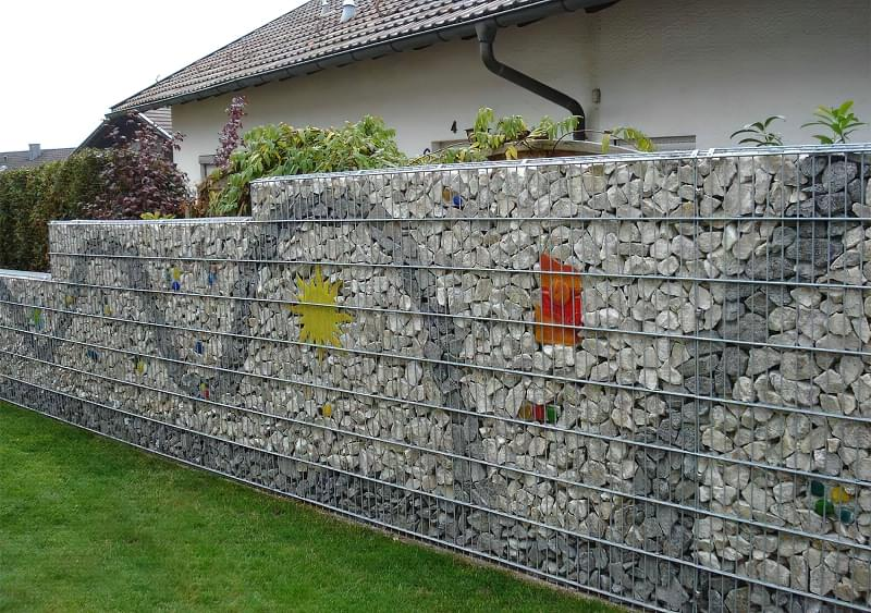 Сучасні варіанти парканів: єврожалюзі, металевий паркан, алюмінієві панелі 11