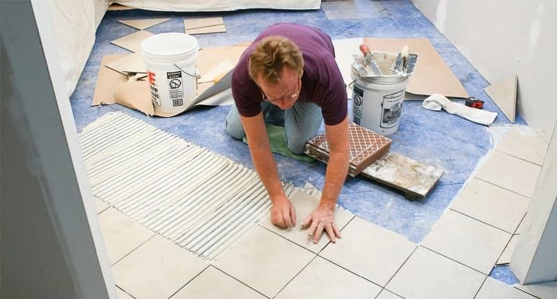 Укладання плитки на епоксидний клей: правила і вибір матеріалів 1