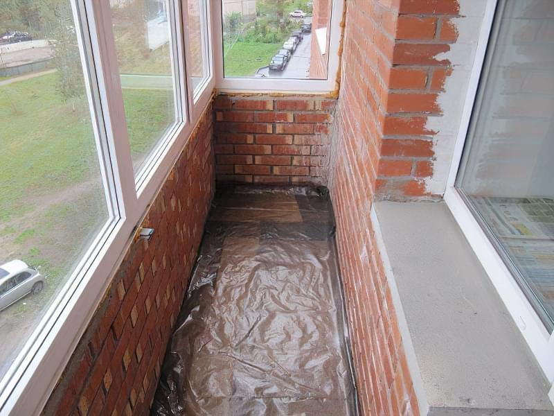 Утеплення балкона мінеральною ватою з пароізоляцією своїми руками 2