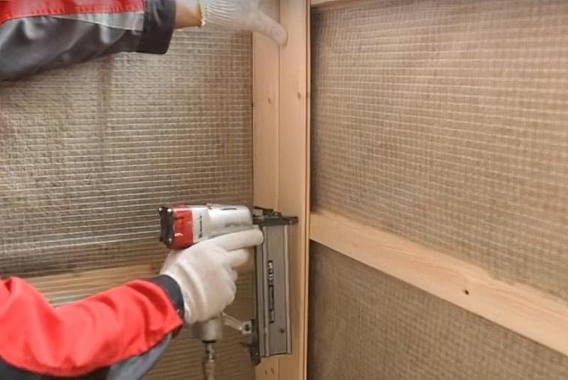 Утеплення балкона мінеральною ватою з пароізоляцією своїми руками 10