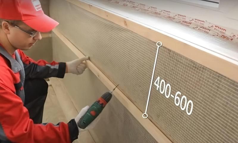 Утеплення балкона мінеральною ватою з пароізоляцією своїми руками 8