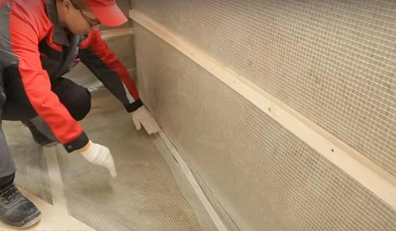 Утеплення балкона мінеральною ватою з пароізоляцією своїми руками 9