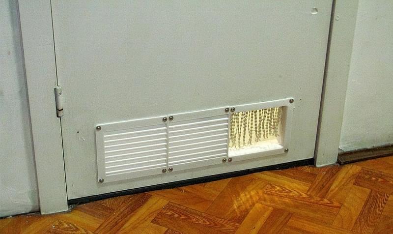 Все про вентиляційні решітки для дверей 2