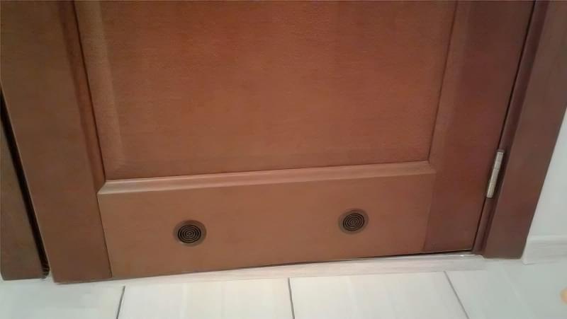 Все про вентиляційні решітки для дверей 5