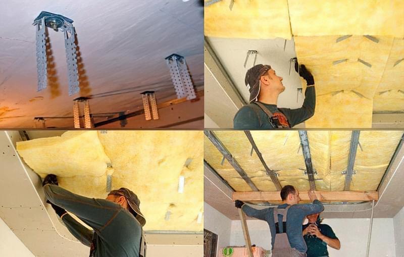 Звукоізоляція стелі в квартирі під натяжну стелю: види звукоізоляції 1