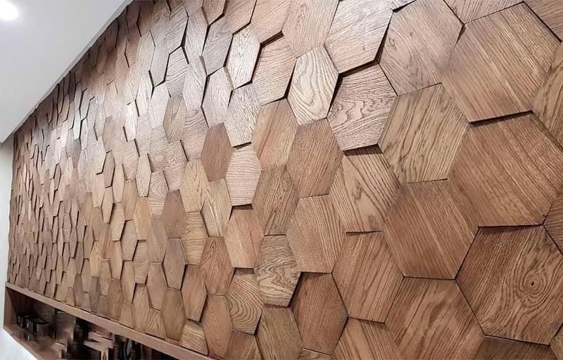 Дерев'яні стінові панелі: види і сфера застосування 2