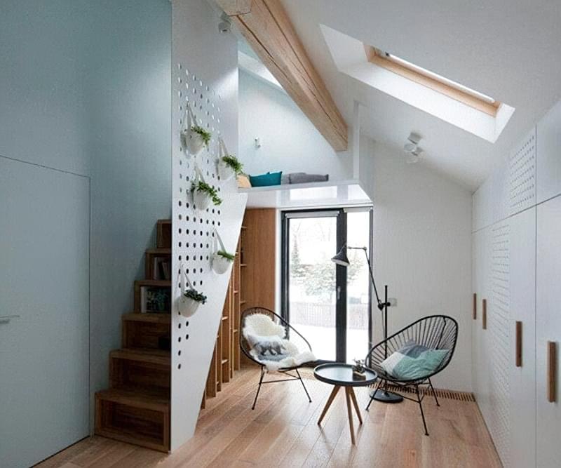 Ідеї облаштування місць зберігання під сходами 3