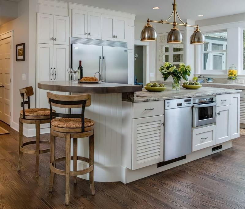 Кухонний стіл чи острів: що краще вибрати 2