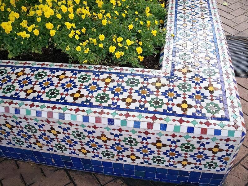 Марокканська плитка зеллідж: особливості та фото 1