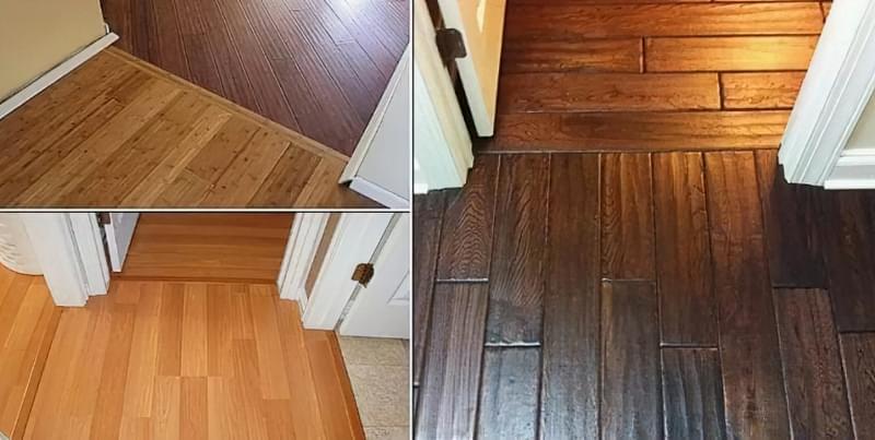 Оздоблення дверного отвору ламінатом: як покласти підлогу на стику 2