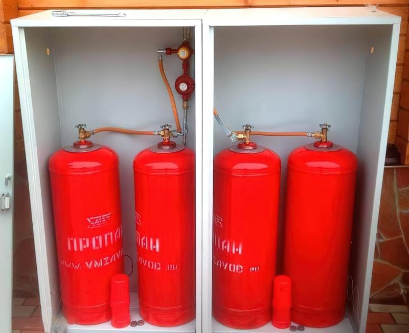 Опалення приватного будинку газовими балонами 2