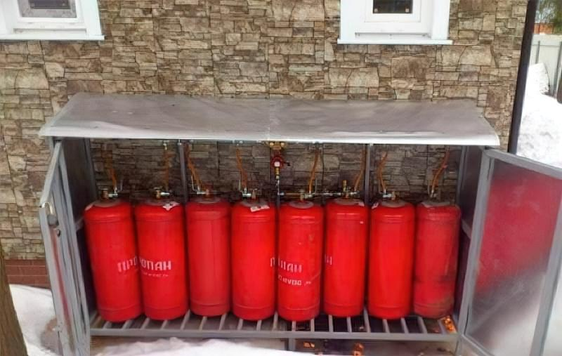 Опалення приватного будинку газовими балонами 4