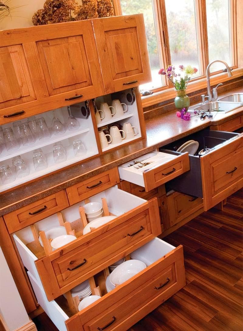 Три зони зберігання на кухні: як правильно розмістити все 2