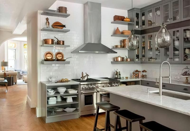 Три зони зберігання на кухні: як правильно розмістити все 4