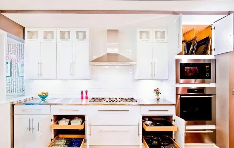 Три зони зберігання на кухні: як правильно розмістити все 5