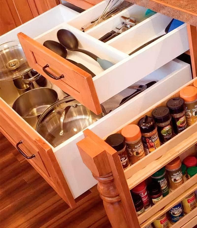 Три зони зберігання на кухні: як правильно розмістити все 6