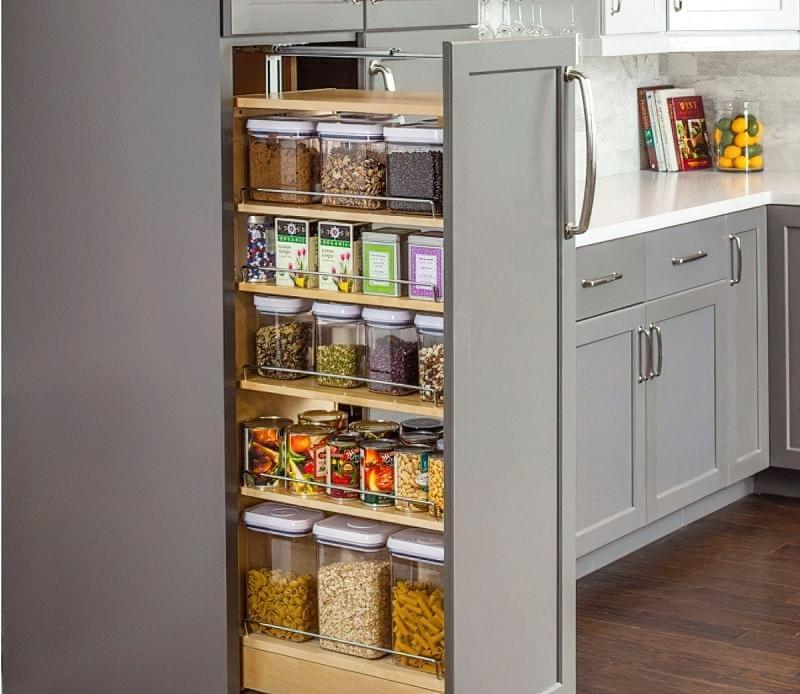 Три зони зберігання на кухні: як правильно розмістити все 1