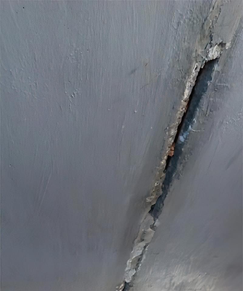 Як легко прибрати тріщини на стелі 2