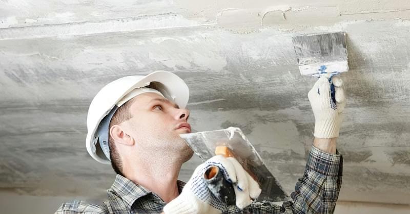 Як легко прибрати тріщини на стелі 1