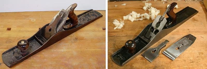 Шерхебель, рубанок, фуганок: особливості та відмінності інструментів 6