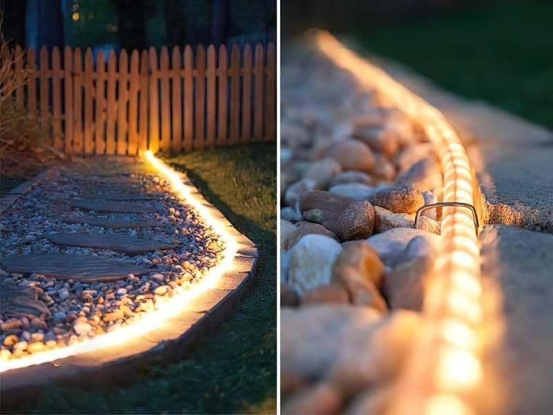 Креативні ідеї вуличного освітлення своїми руками 11
