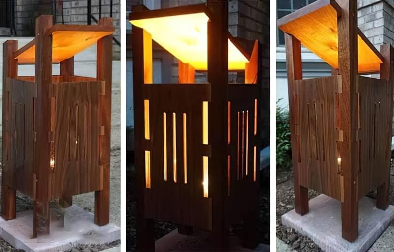Креативні ідеї вуличного освітлення своїми руками 7
