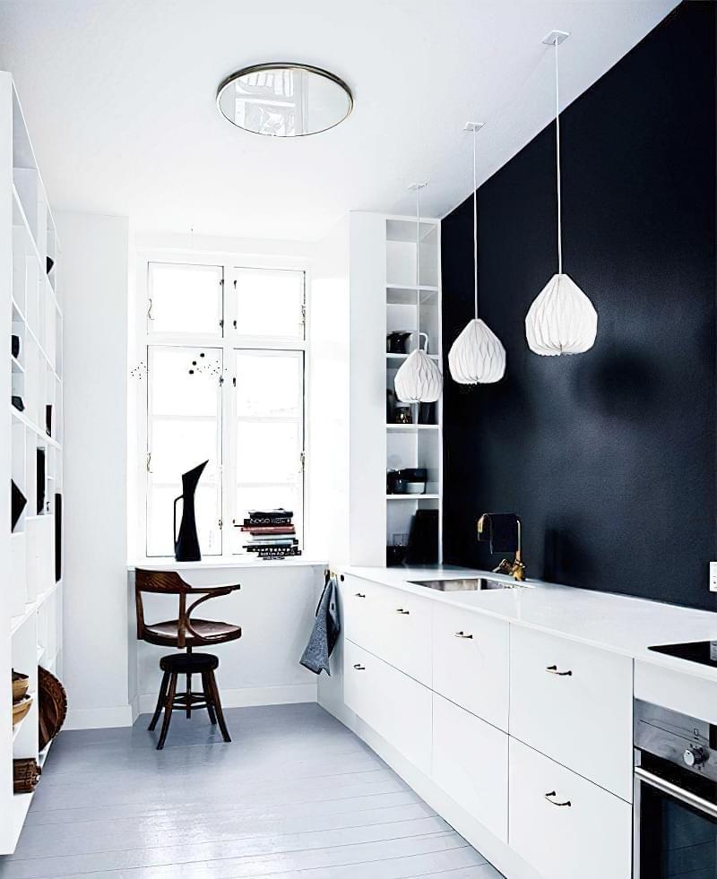 Модні відтінки кухонь 2020 3