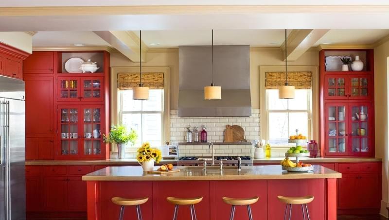 Модні відтінки кухонь 2020 7
