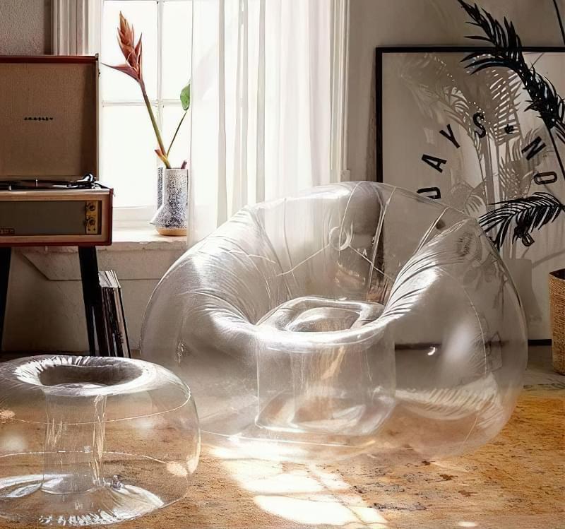 Переваги та недоліки надувних меблів 6