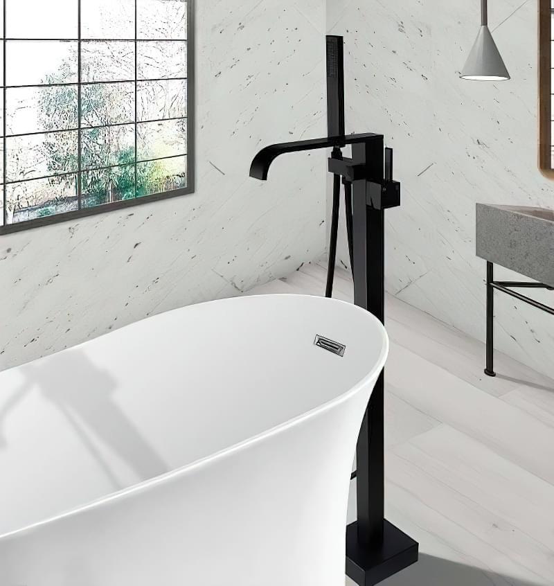 Підлогові змішувачі для ванни: плюси і мінуси 2