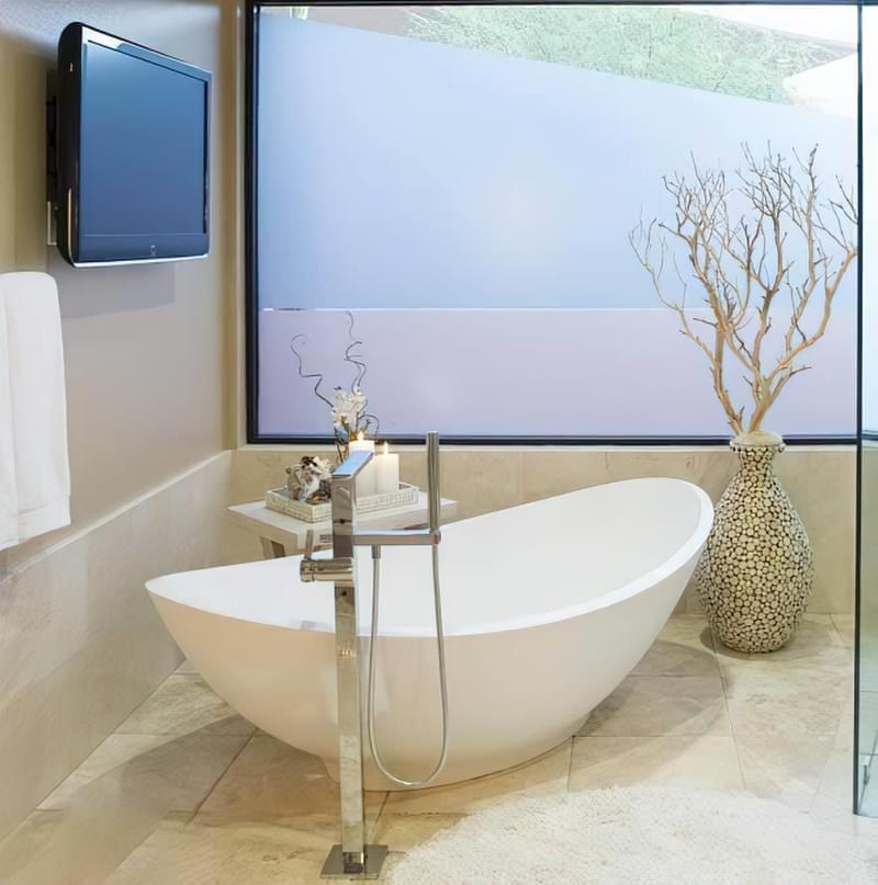 Підлогові змішувачі для ванни: плюси і мінуси 4