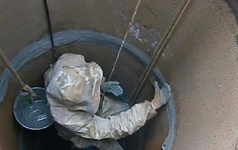 Захист колодязя від талих вод 4