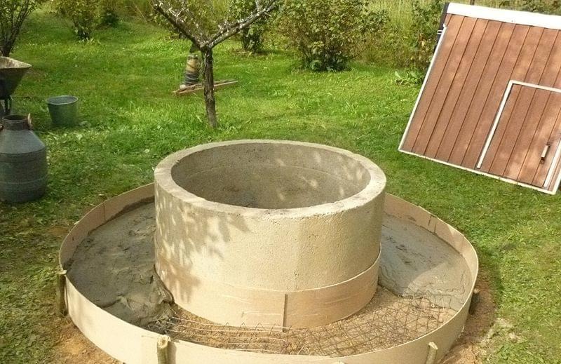 Захист колодязя від талих вод 5