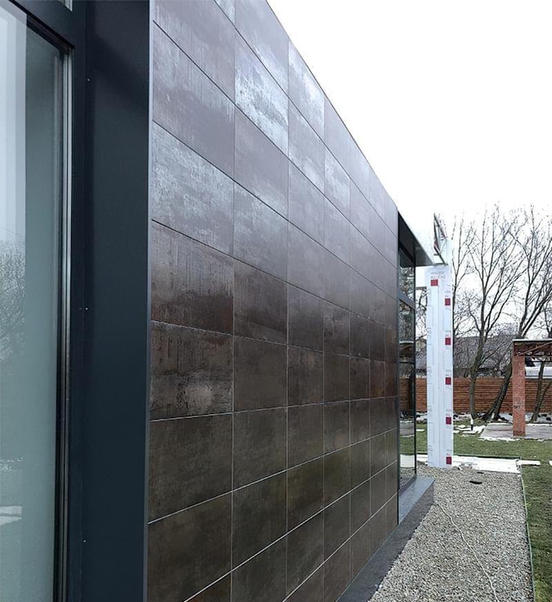 Керамограніт на фасаді: плюси, мінуси, особливості вибору 2